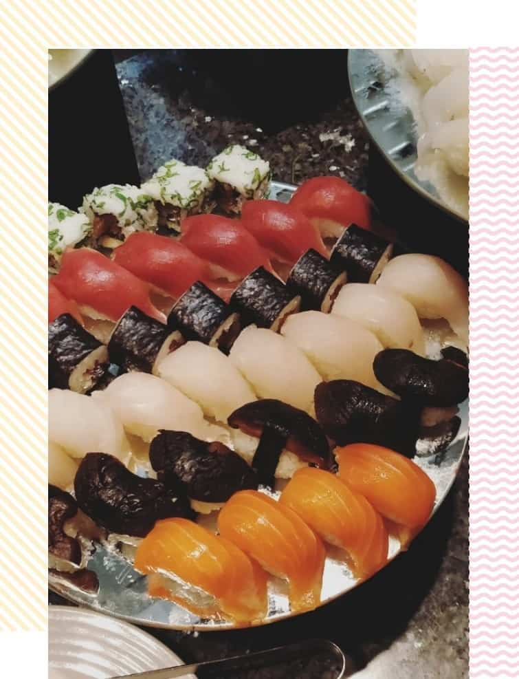 Sushi at Fujiyama